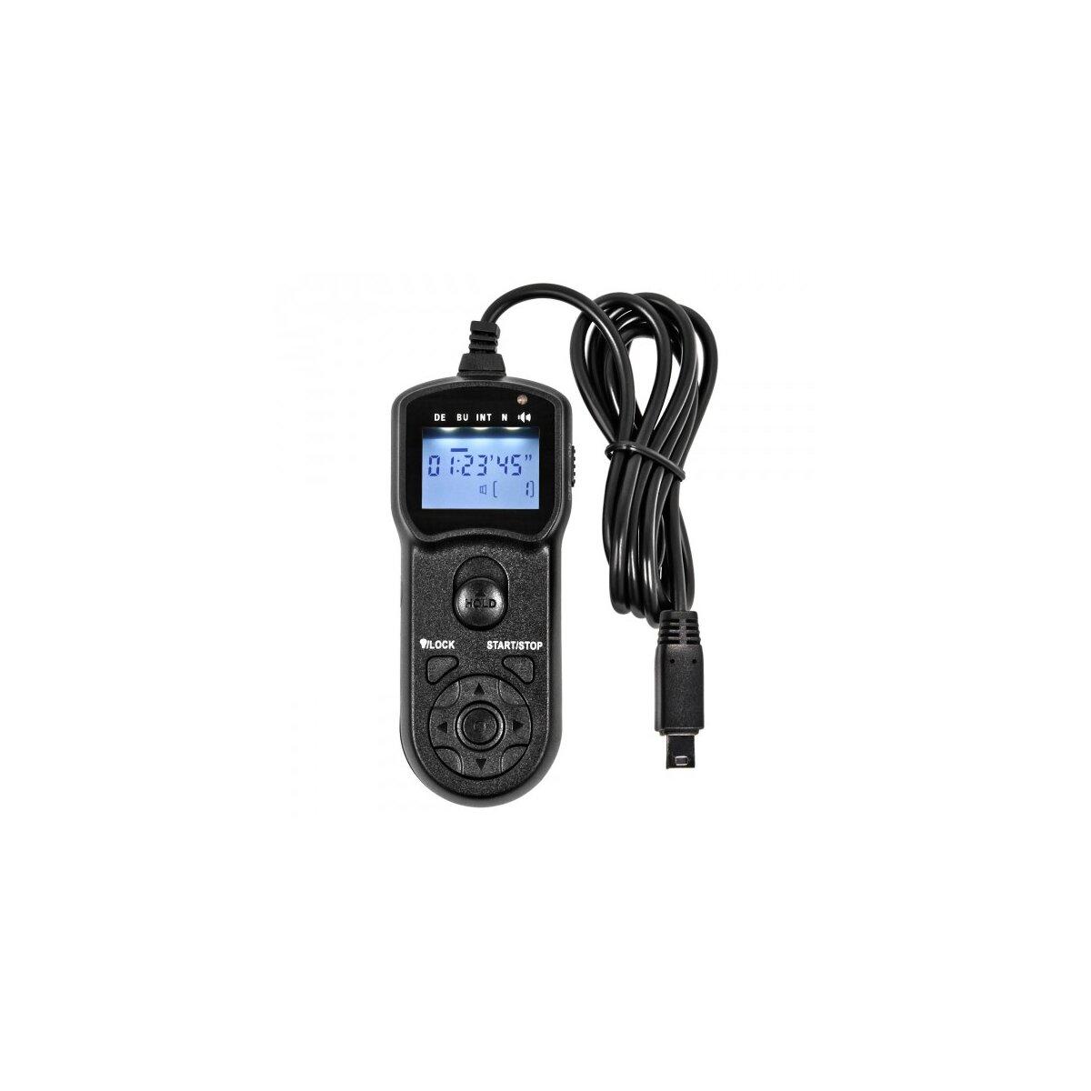 Programmierbarer Timer Fernauslöser kompatibel für Fujifilm Finepix X-S1 S9600 S9500 S9100 S9000 S205EXR S200EXR S100FS S20 Pro HS33EXR HS30EXR HS28EXR HS25EXR HS22EXR HS20EXR IS-1 - Ersatz für RR-80