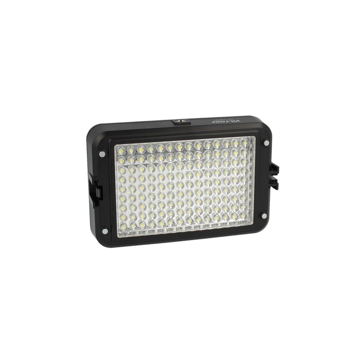 Viltrox LL-126VT Kraftvolle Videoleuchte 126 LED's, Lichtkamera mit Dimmer fuer Farbtemperatur & 2 Filtern fuer alle gaengigen Kameras