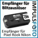 Zusatzempfaenger bis 200m fuer Pixel ROOK Set Nikon - Gruppierung & Wake-Up Funktion