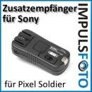 Zusatzempfaenger bis ca. 100m fuer Pixel Soldier TF-373 Set Sony - Gruppierung & Wake-Up Funktion