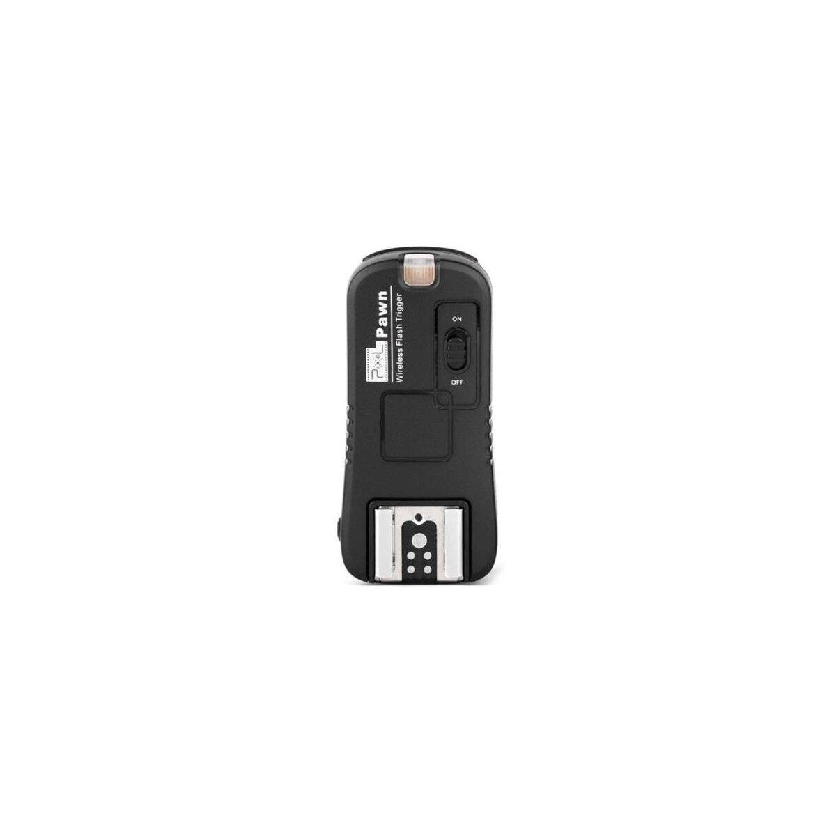 Zusatzempfaenger bis ca. 100m fuer Pixel Pawn TF-361 Set Canon – Wake Up Funktion – TF-361RX