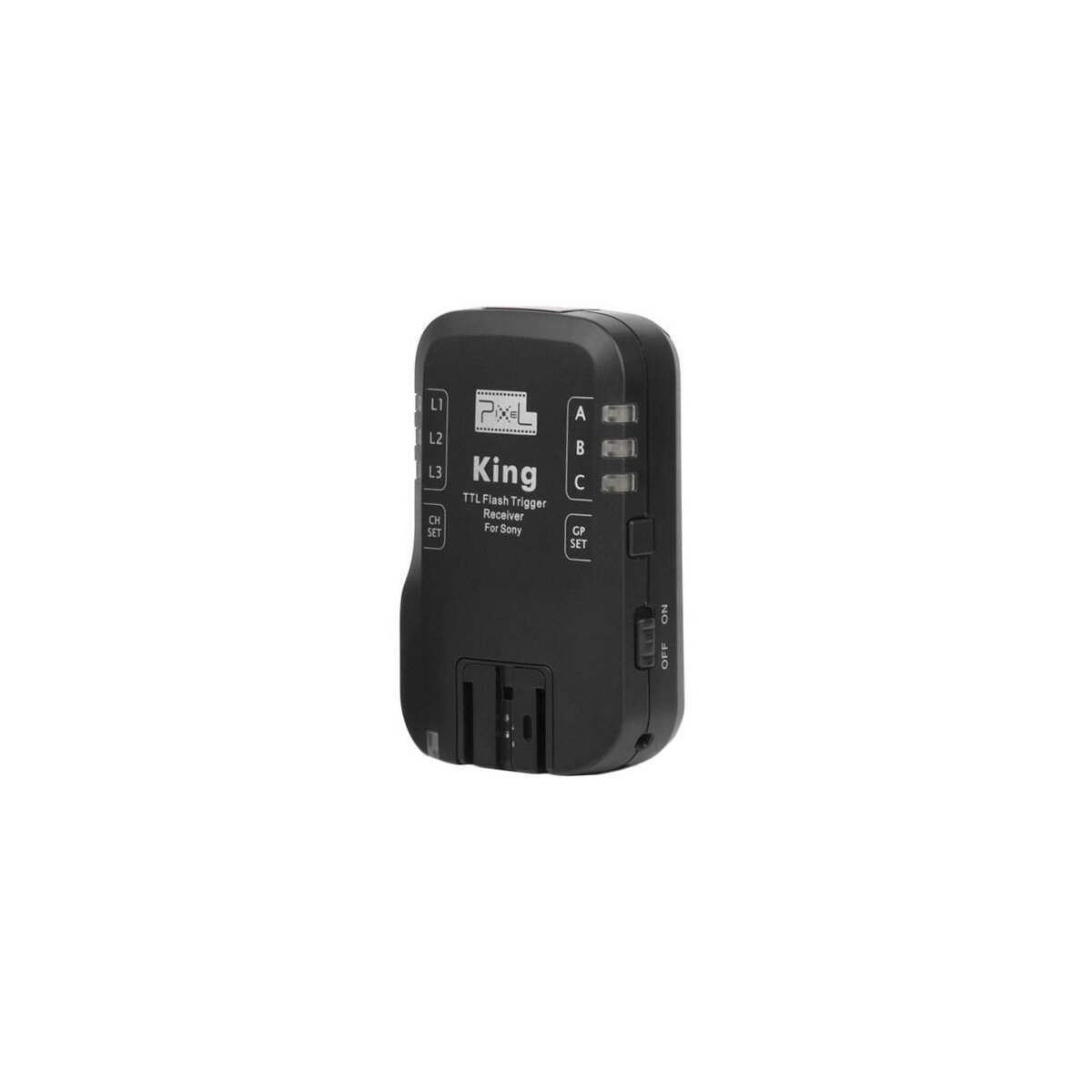 PIXEL KING E-TTL Funk-Blitzauslöser Zusatzempfänger kompatibel mit Sony Blitzgeräten und Sony DSLR (King RX)
