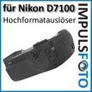 PIXEL Qualitäts Multifunktions-Handgriff Vertax kompatibel mit Nikon D7100 Ersatz für MB-D15 mit Multi-Controller für Menüführung