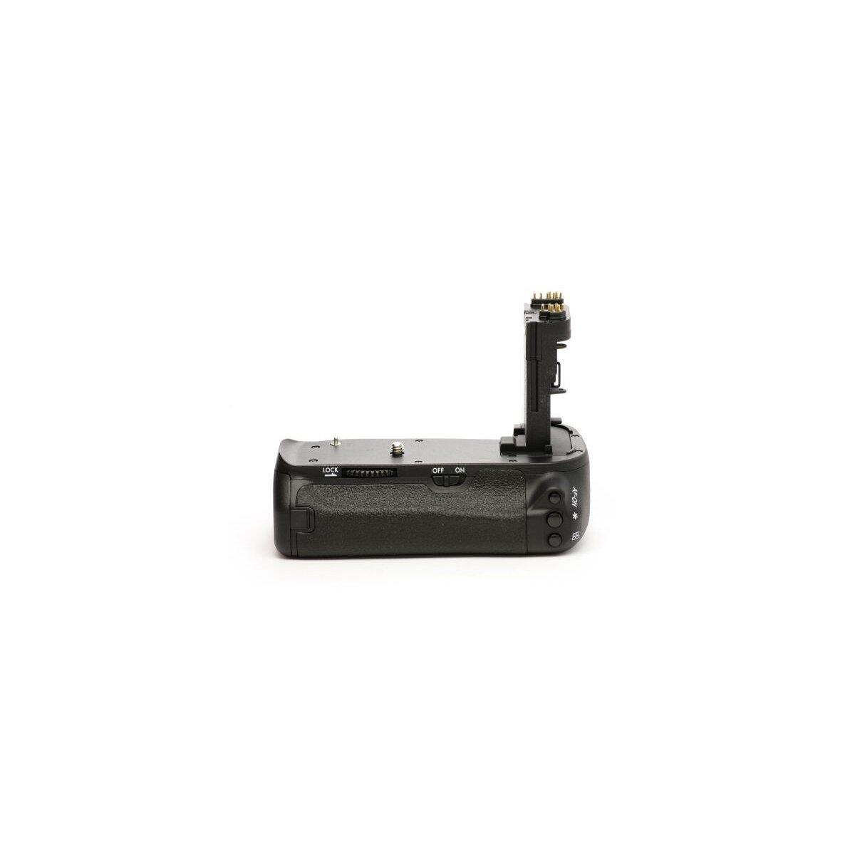 Minadax Profi Batteriegriff kompatibel mit Canon EOS 6D - Ersatz für BG-E13 - für 2x LP-E6 und 6x AA Batterien