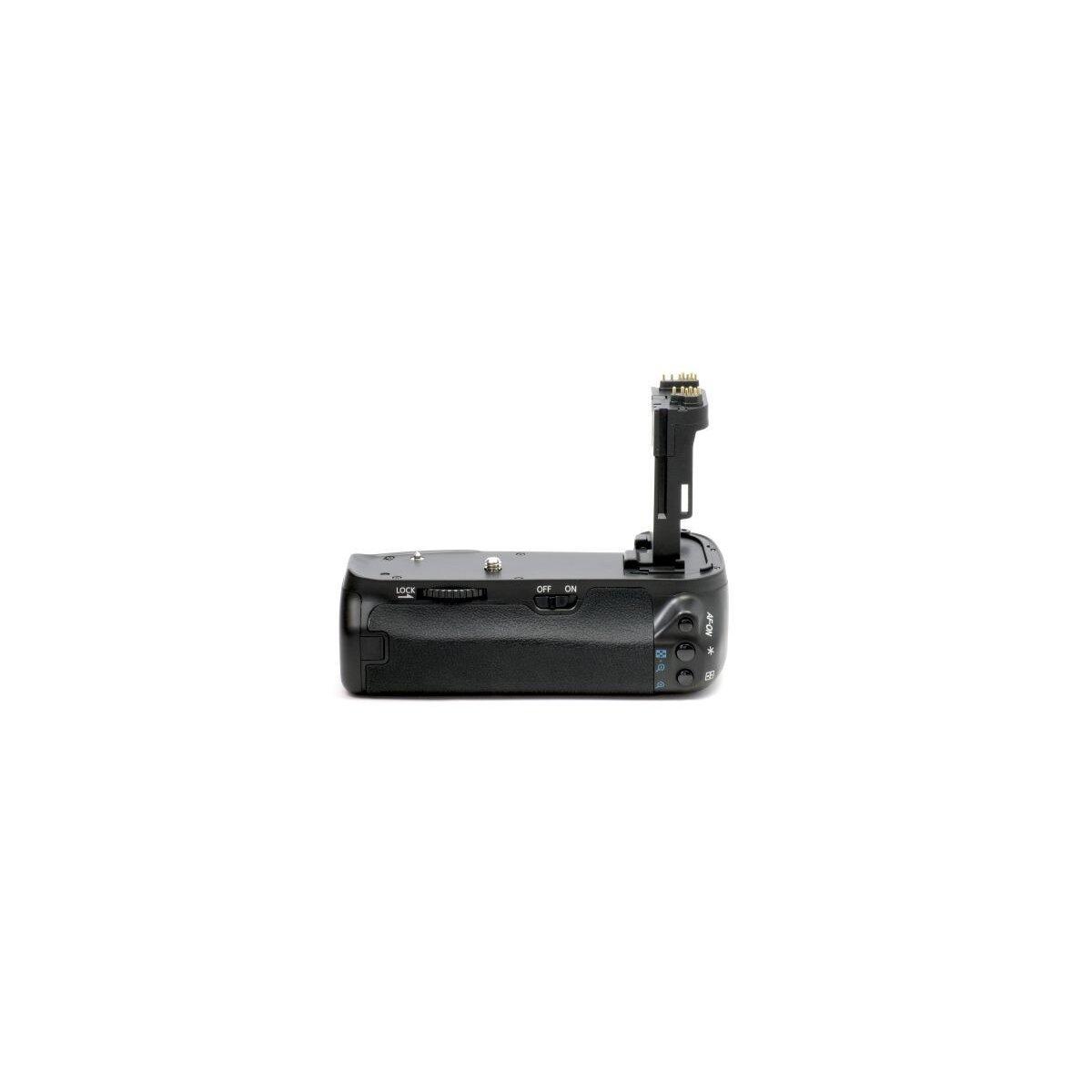 Minadax Profi Batteriegriff kompatibel für Canon EOS 6D Ersatz für BG-E13 - für 2x LP-E6 und 6x AA Batterien