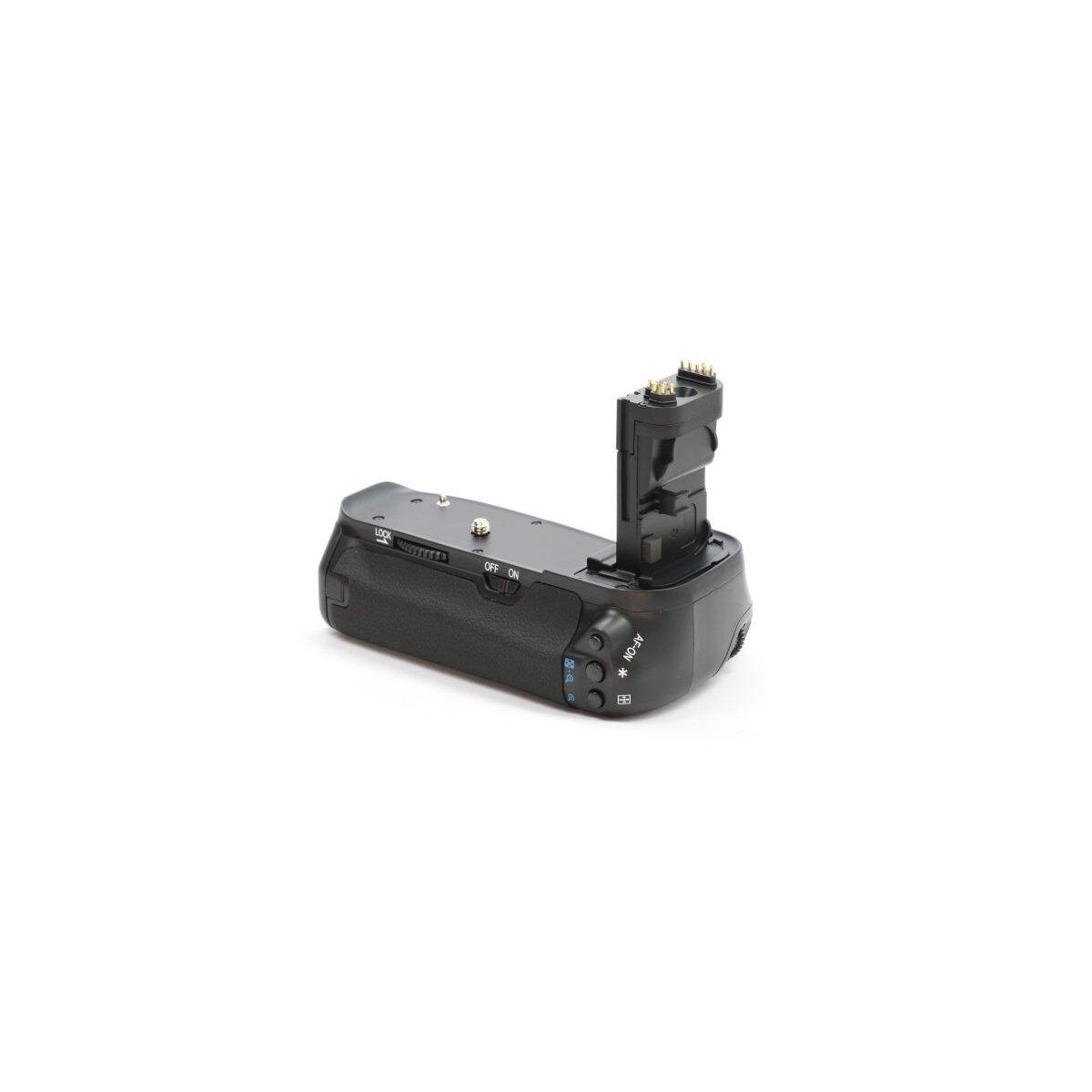Profi Batteriegriff kompatibel mit Canon EOS 60D Ersatz für BG-E9 - für LP-E6 und 6 AA Batterien