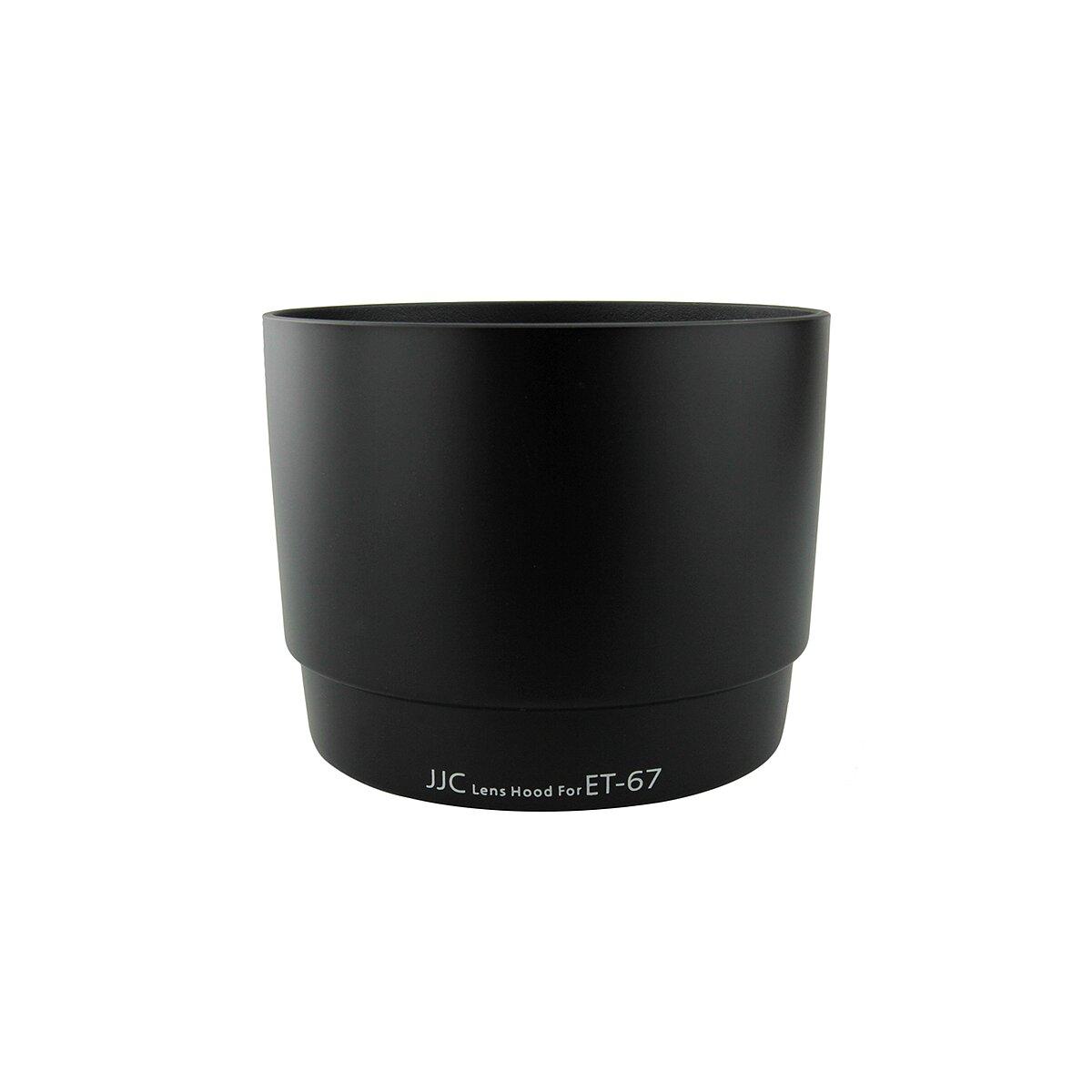 Sonnenblende kompatibel mit Canon Objektive EF 100mm f/2,8 Macro & EF 100mm f/2,8 Macro USM - Ersatz für ET-67