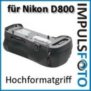 PIXEL Qualitäts Profi Batteriegriff Vertax kompatibel mit Nikon D800 D800E D800S Ersatz für MB-D12