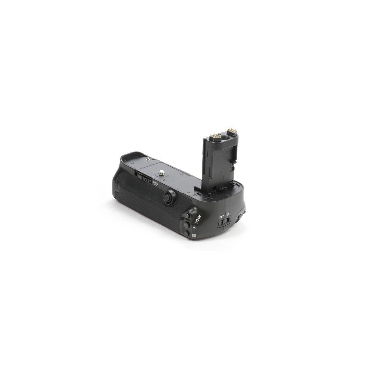 Profi Batteriegriff kompatibel mit Canon EOS 5DS, 5DS R, 5D Mark III als BG-E11 Ersatz für LP-E6 Akkus