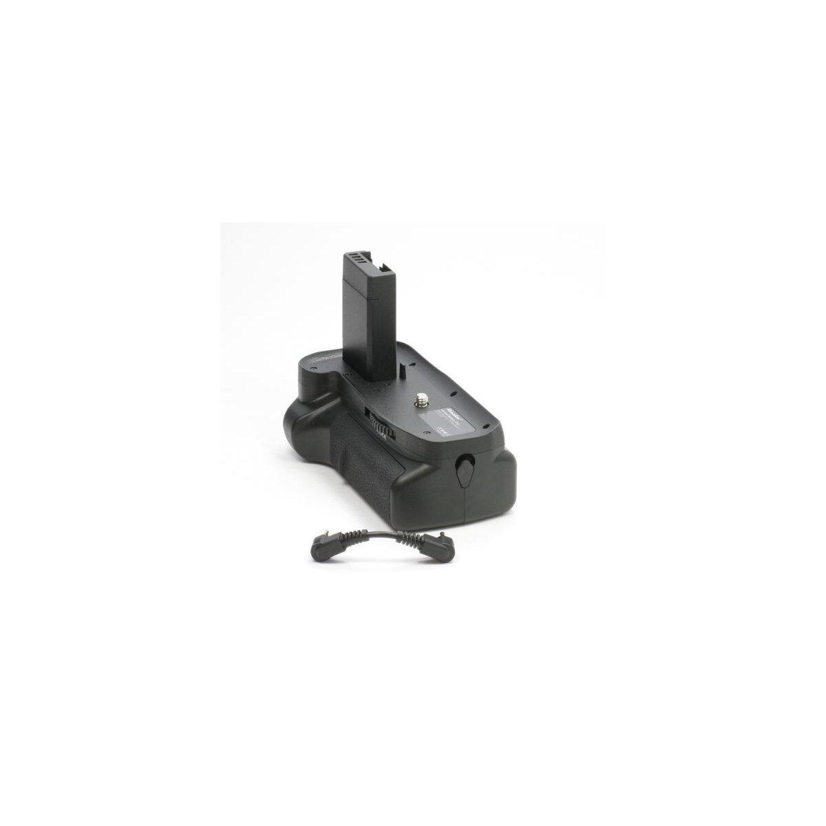Minadax Profi Batteriegriff kompatibel mit Canon EOS 1300D, 1200D, 1100D Ersatz für BG-E10 - für 2x LP-E10