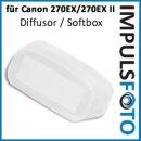 PIXEL Diffusor, Softbox, Weichmacher, Flash Bounce kompatibel mit Canon 270EX, 270EX II Blitzgeräte