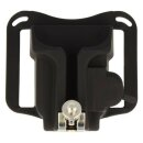 Guertelclip, Kamerahalterung fuer den Guertel fuer DSLR & Kompaktkameras - Kamera Guertel Clip - Camera Belt Holster