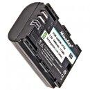 Minadax Li-Ion Akku Ersatz für LP-E6  LPE6 kompatibel mit Canon EOS 80D 70D 60D 60Da 7D 7D Mark II 6D 5D Mark IV, 5D Mark III, 5D Mark II