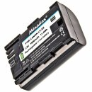 Minadax® Quality Battery for Canon EOS Intelligent Battery System With Chip (LP-E6, Rechargeable Battery)