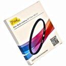 UV Filter 52mm Slimline | ultraduenn 1.8mm | über 99% lichtdurchlaessig | mehrfachverguetet – Pixel MEUV 52mm