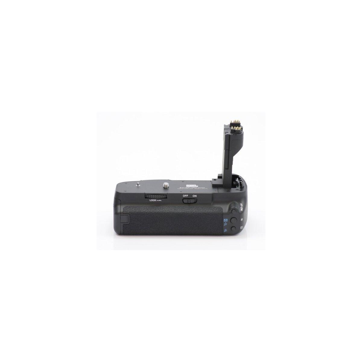 Qualitäts Profi Batteriegriff von Vertax kompatibel mit Canon EOS 5D Mark II Ersatz für BG-E6 - für LP-E6 und 6 AA Batterien