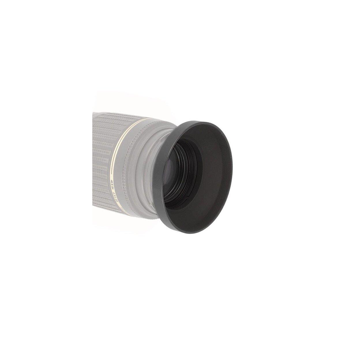Weitwinkel Sonnenblende / Gegenlichtblende 49mm - Aluminium