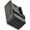 Minadax® Ladegeraet 100% kompatibel fuer Canon Nikon EN-EL14 inkl. Auto Ladekabel, Ladeschale austauschbar