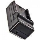 Minadax® Ladegerät 100% kompatibel für Panasonic DMW-BLB13 inkl. Auto Ladekabel, Ladeschale austauschbar