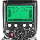 Pixel X800C kompatibel mit Canon - Professioneller E-TTL Blitz mit LZ60 und 2,4 GHz Wireless-TTL - Ersatz für Canon Speedlite 600EX-RT
