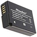 Minadax® Ladegeraet 100% kompatibel fuer Panasonic DMW-BLD10 inkl. Auto Ladekabel, Ladeschale austauschbar + 1x Akku wie DMW-BLD10