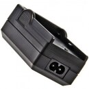 Minadax® Ladegeraet 100% kompatibel fuer Panasonic CGA-DU14 inkl. Auto Ladekabel, Ladeschale austauschbar + 1x Akku wie CGA-DU14