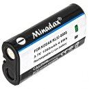 Minadax® Ladegeraet 100% kompatibel fuer Kodak KLIC-8000 inkl. Auto Ladekabel, Ladeschale austauschbar + 1x Akku wie KLIC-8000
