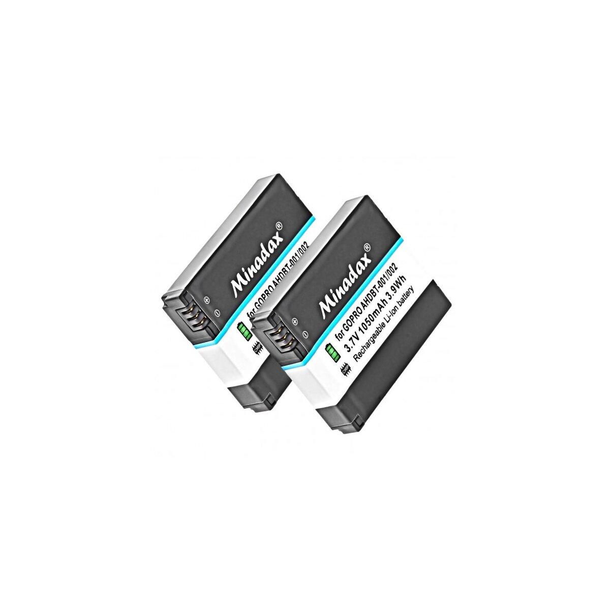 Minadax Qualitätsakku mit echten 1400 mAh kompatibel für Sony Cybershot DSC-F707, DSC-F717, DSC-F828, DSC-S30, DSC-S50, DSC-S70, DSC-S75, DSC-S85, DSLR-A100, MVC-CD200 - Ersatz für NP-FM50