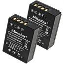 Minadax® Ladegeraet 100% kompatibel fuer Fuji NP-W126...