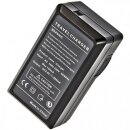 Minadax® Ladegeraet 100% kompatibel fuer Fuji NP-W126 inkl. Auto Ladekabel, Ladeschale austauschbar + 2x Akku wie NP-W126
