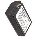 Power Akku 1860 mAh wie ED-BP1900 / BP-1900 Minadax® Qualitaetsakku fuer Samsung NX1 / NX-1 - Intelligentes Akkusystem mit Chip