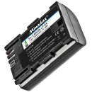 Power Akku 1900 mAh Ersatz für LP-E6  LPE6  Minadax® Qualitätsakku kompatibel mit Canon 80d 70D 60D 60Da 7D 7D Mark II, 6D 5D Mark III, 5D Mark II - Intelligentes Akkusystem mit Chip