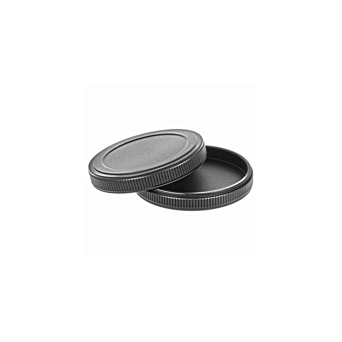 Aluminium Filter-Schutzdeckel / Schraub-Filterkappen fuer 62mm Filter