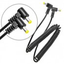 Makrolicht, Ringleuchte mit 48 LED´s fuer DSLR mit 49mm-67mm Adapterringe, mit getrennt schaltbaren Seiten - JJC LED-48IO