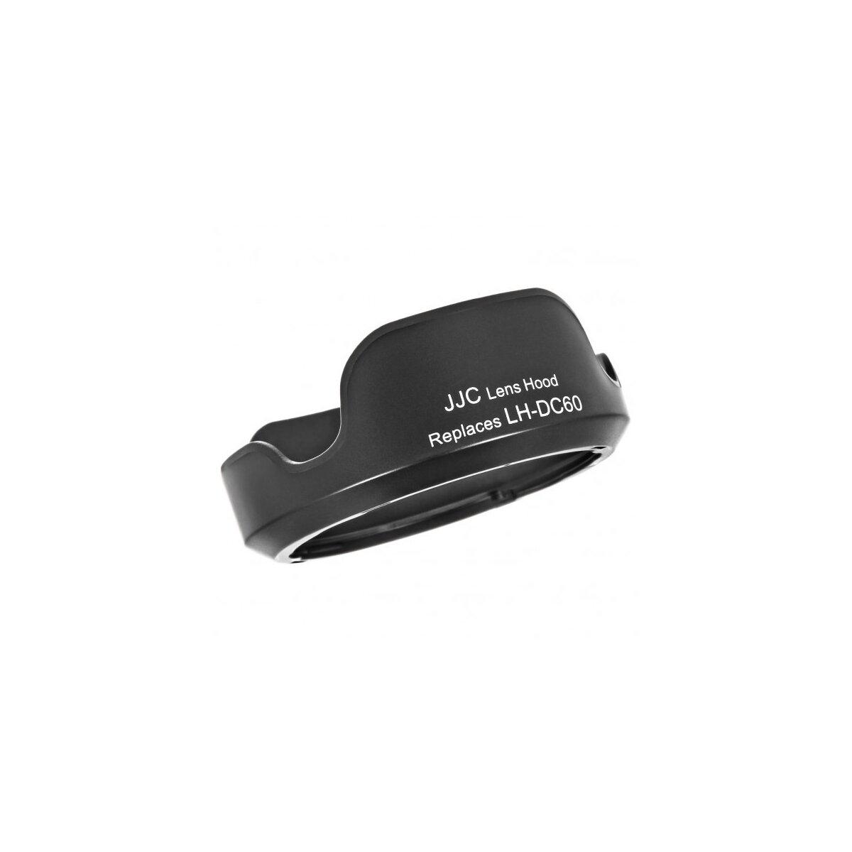 JJC Sonnenblende Gegenlichtblende Ersatz für Canon LH-DC60 kompatibel mit Canon Powershot SX1 IS, SX10 IS, SX20 IS, SX30 IS, SX40 HS, SX50 HS - JJC LH-JDC60