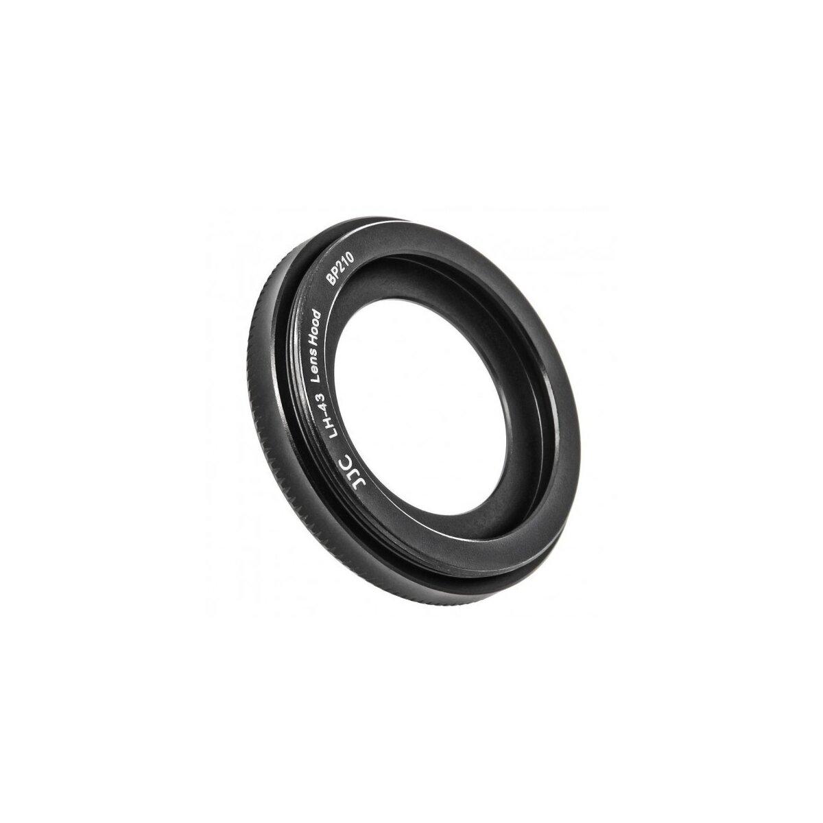 Gegenlichtblende kompatibel für Canon EF-M 22mm f/2 STM Ersatz für EW-43 - JJC LH-43