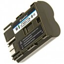 "Minadax® 2x PRO Li-Ion Akku ""Hohe Kapazität"" 1600 mAh kompatibel mit Canon - Ersatz für BP-511A"