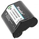 Minadax Li-Ion Akku mit echten 2200mAh kompatibel für Nikon F6, D3X, D3s, D3, D2Xs, D2X, D2Hs, D2H und MB-D10 (D700, D300s, D300) - Ersatz für EN-EL4a - Intelligentes Akkusystem mit Chip