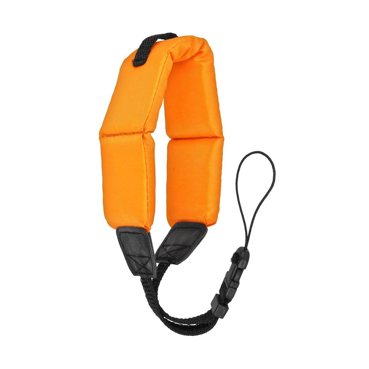 Minadax® Schwimmfähige Handschlaufe | Für Kompakt- und Unterwasserkameras | Praktisch & Sicher | Orange