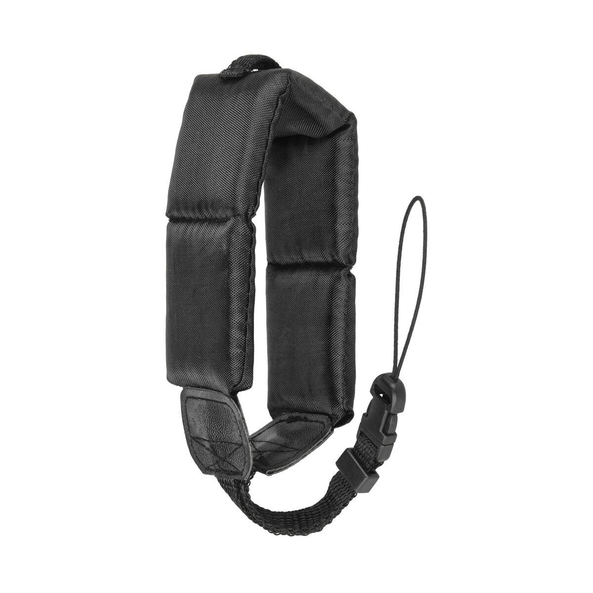 Minadax® Schwimmfähige Handschlaufe | Für Kompakt- und Unterwasserkameras | Praktisch & Sicher | Schwarz