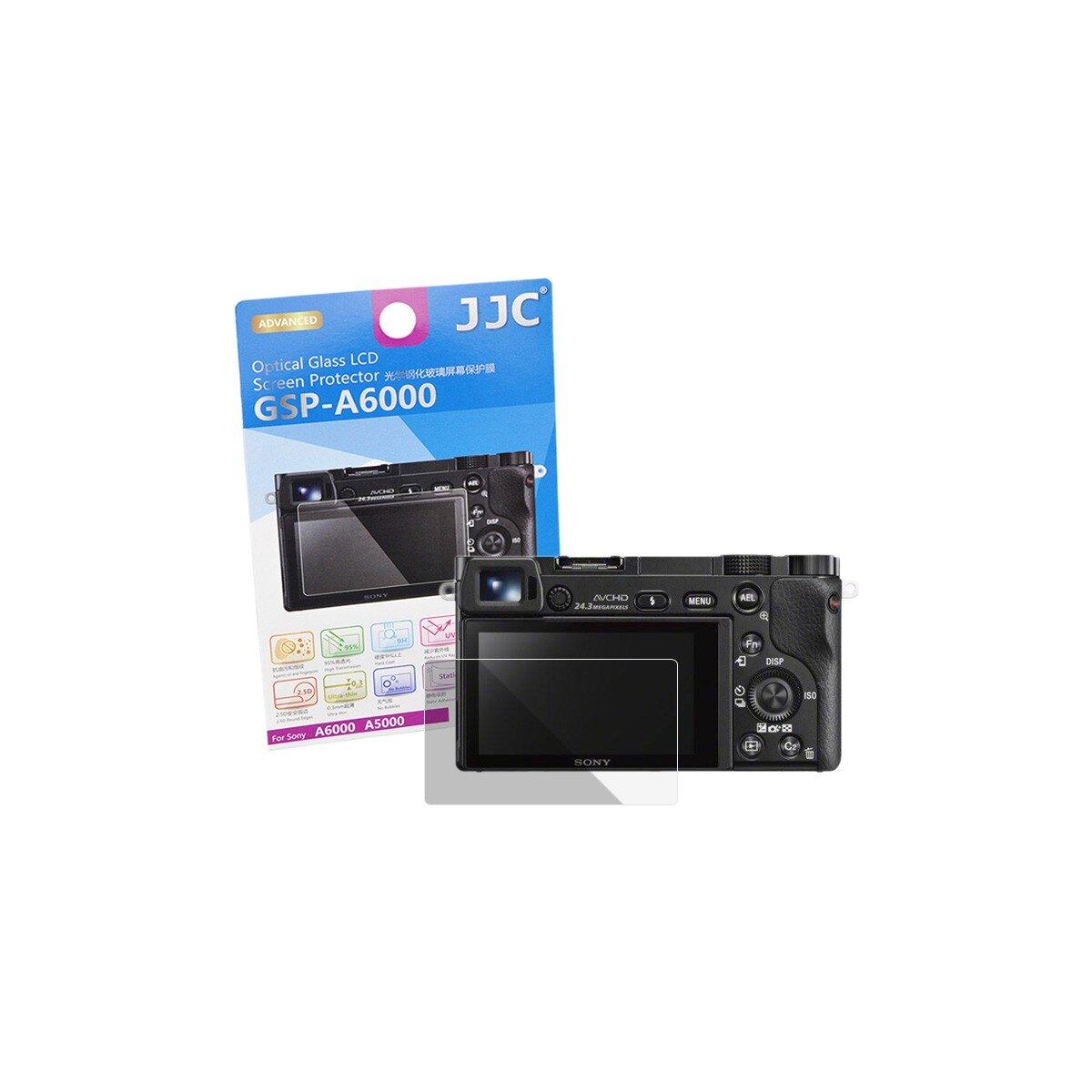 Hochwertiger Displayschutz Screen Protector aus gehärtetem Echtglas, kompatibel für Sony A6600 A6400 A6300 A6100 A6000 A5000