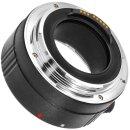 25mm Automatik Makro Zwischenring Extension Tube kompatibel für Canon EOS mit Autofokus Weiterleitung