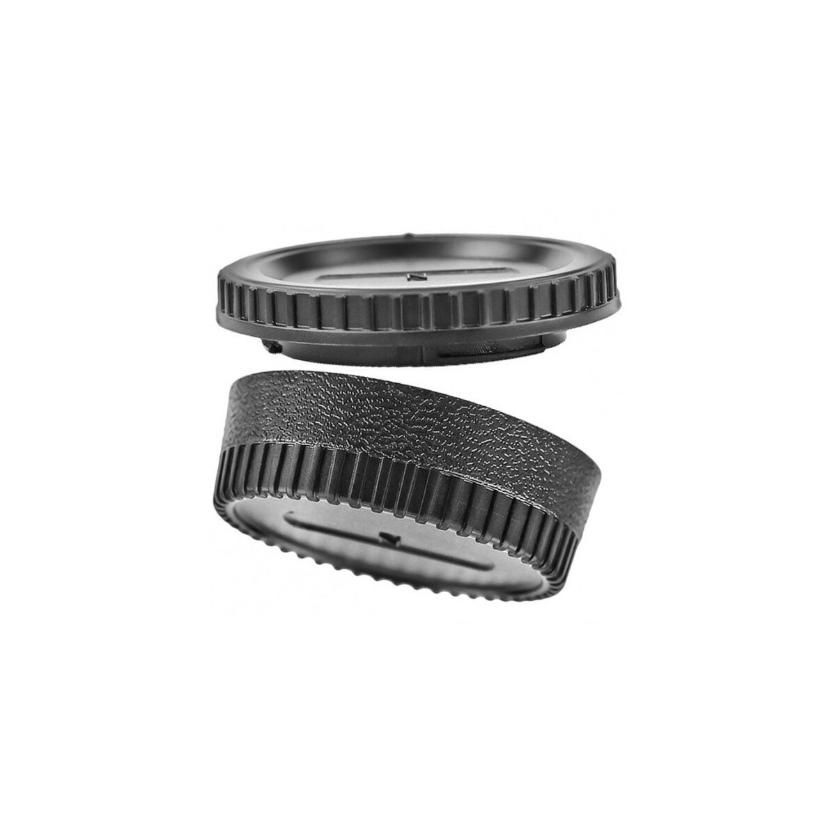 JJC Gehäuse- und Objektiv Rückdeckel kompatibel mit Nikon DSLR Spiegelreflexkameras