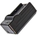 Minadax® Ladegeraet 100% kompatibel mit Pentax D-LI90 645D, 645Z, K-01, K-3, K-5, K-5 II, K-5 IIs, K-7 inkl. Auto Ladekabel, Ladeschale austauschbar