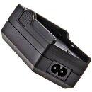 Minadax® Ladegerät 100% kompatibel mit Nikon EN-EL15 inkl. Auto Ladekabel, Ladeschale austauschbar