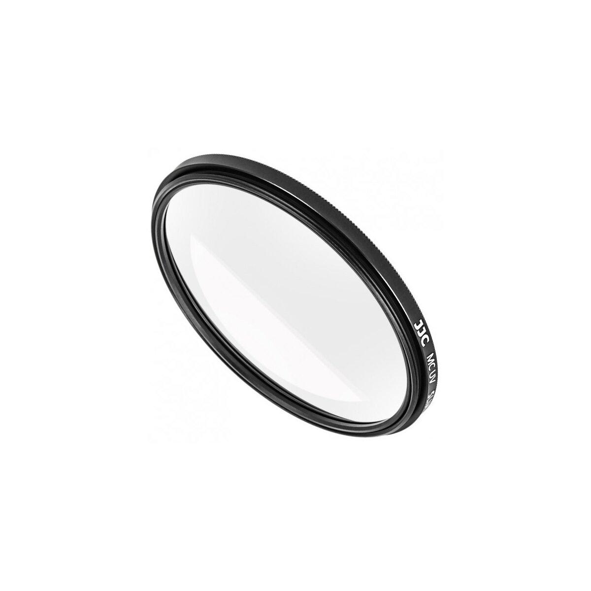 Ultra Flacher UV-Filter Schutzfilter fuer Objektive mit 49 mm Filtergewinde - reduziert stoerenden Dunst und schuetzt ihr wertvolles Objektiv