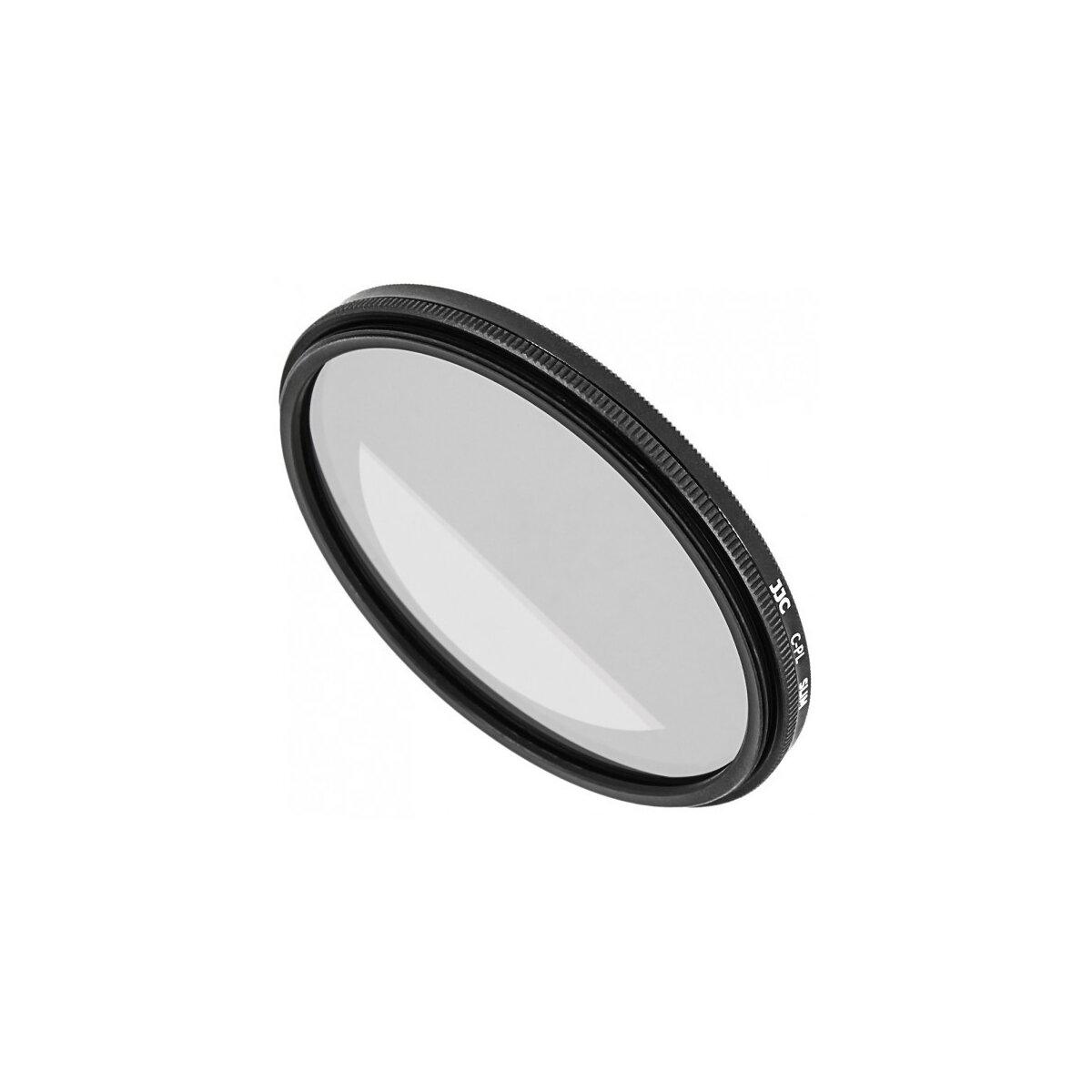 Ultra Flacher Zirkular CPL Polfilter fuer Objektive mit 77 mm Filtergewinde - fuer kontrastreiche Bilder mit gesaettigten Farben
