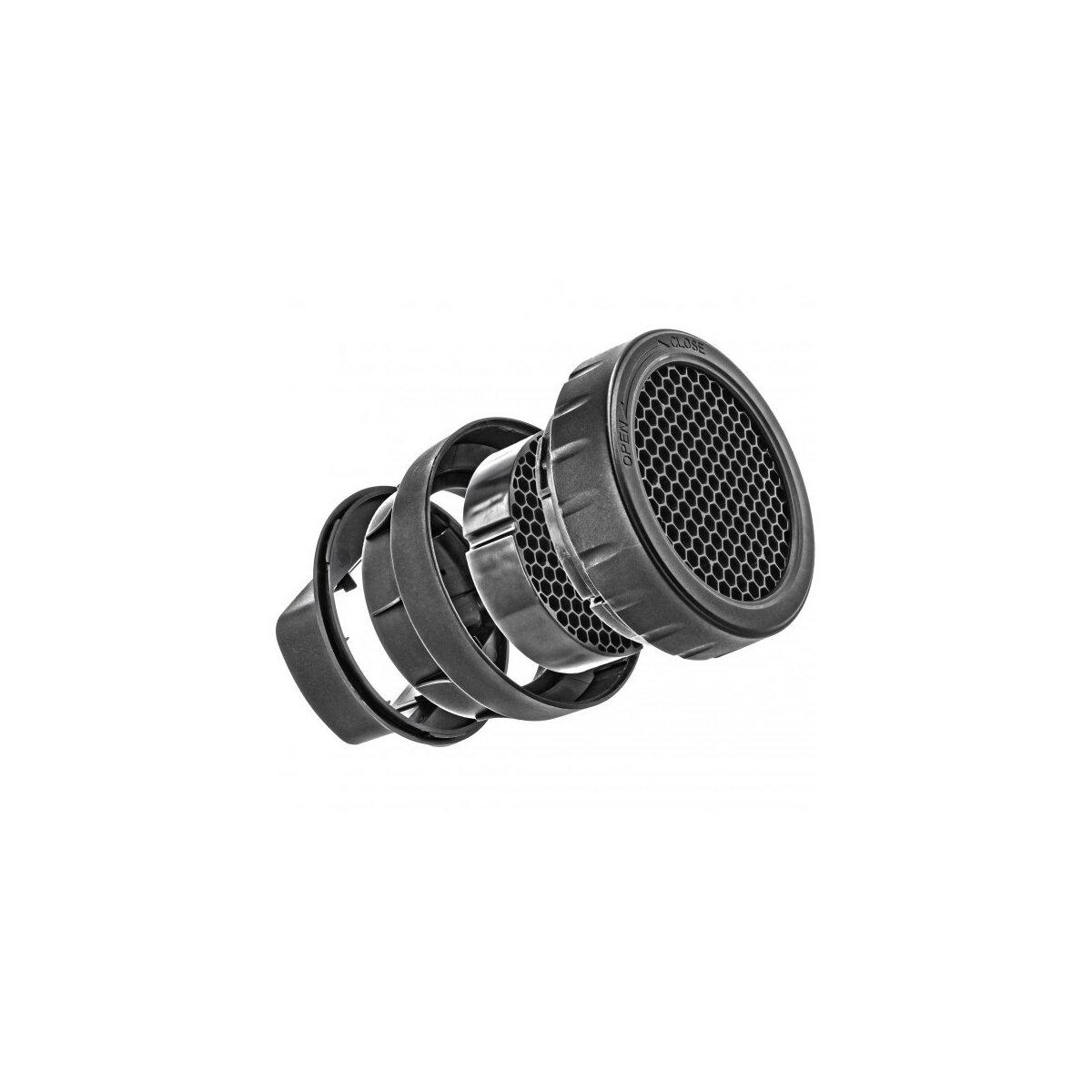 Hochwertiger Lichformer Wabenvorsatz kompatibel mit Canon Speedlite 600EX-RT, 580EX II und 580EX - JJC SG-CII