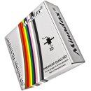 Minadax® 1kg Premium Qualitaet 3mm (2,85mm) PLA-Filament apfelgruen fuer 3D-Drucker hergestellt in Europa