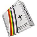 Minadax® 1kg Premium Qualitaet 3mm (2,85mm) ABS-Filament magenta fuer 3D-Drucker hergestellt in Europa
